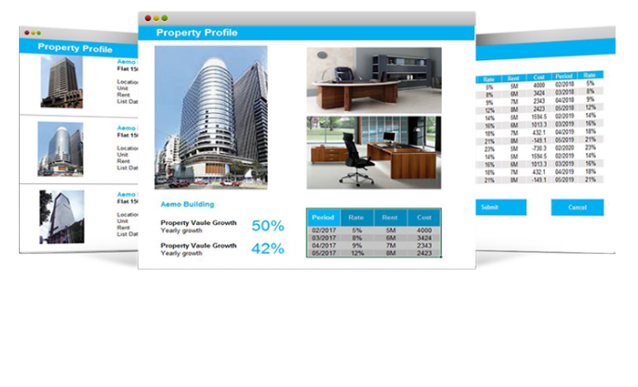 FlexSystem property and rental management billing system property portfolio